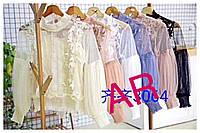Женская элегантная блуза с набивным кружевом (расцветки), фото 1