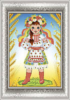 СКМ-147. Схема для вишивки бісером Українка