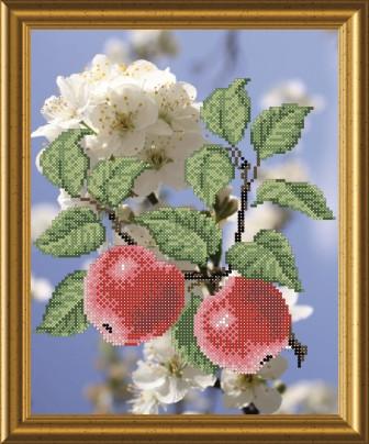 СКМ-15. Схема для вишивки бисером Яблуневий цвіт.