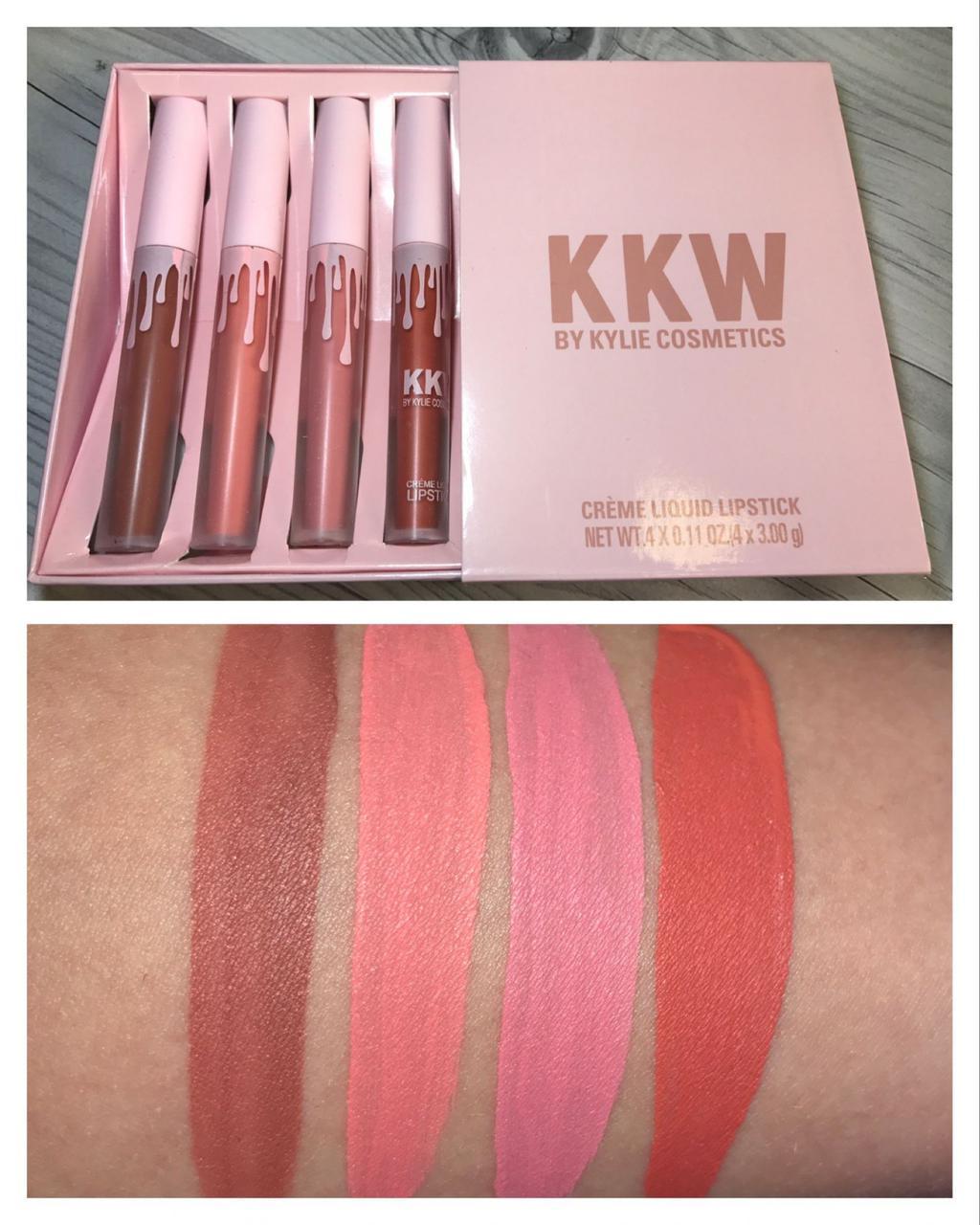 Помада Kylie True Brown K купить в магазине со скидкой: Кремовая жидкая помада KKW By Kylie Cosmetics копия