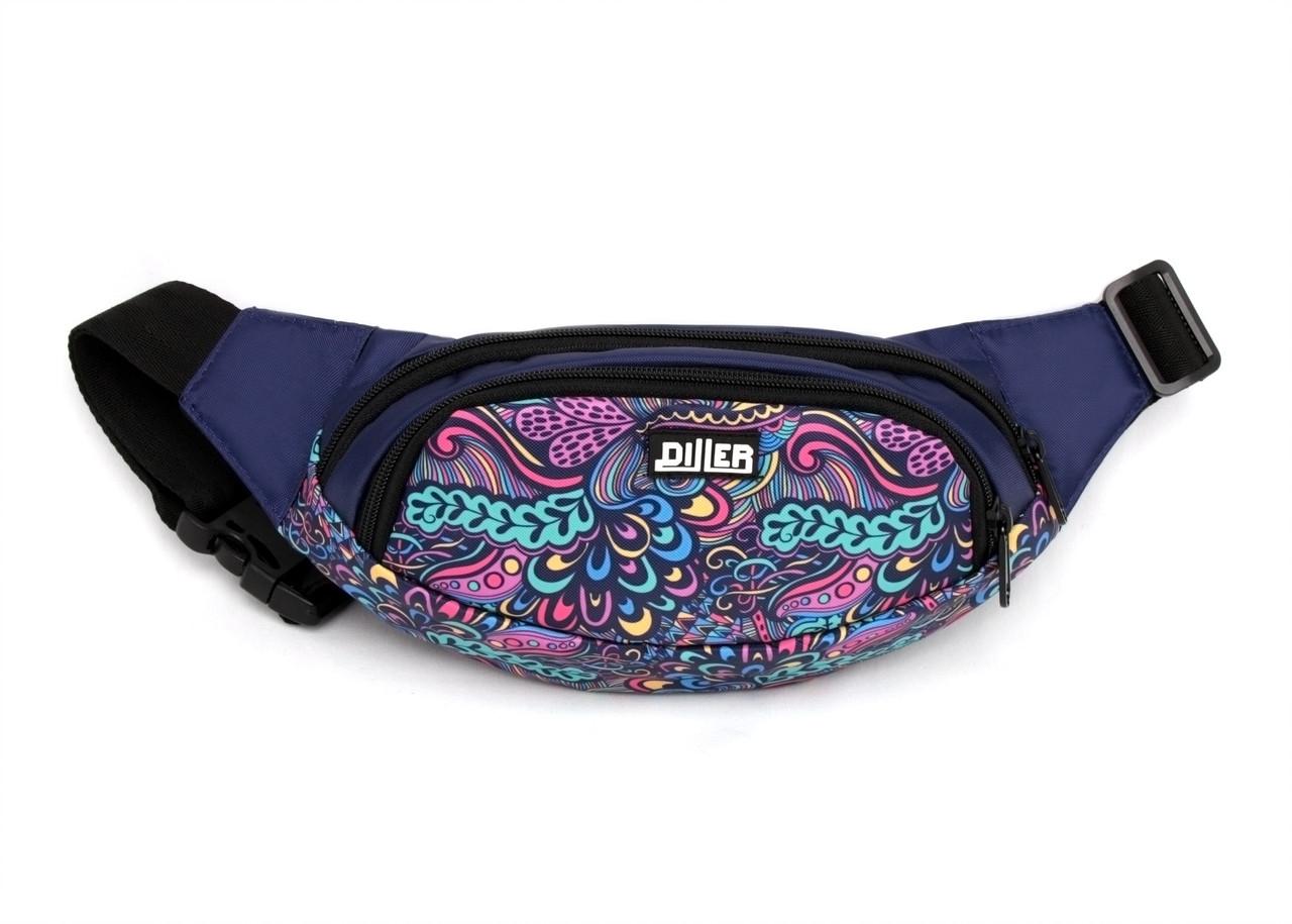 Поясная сумка Purple Pattern