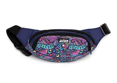 Поясная сумка Purple Pattern, фото 2