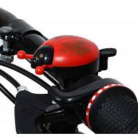 CTSmart звонок для велосипеда в виде милой леди жука Красный