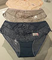 Женские кружевные трусики шортиками