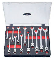 Набор ключей трещоточных шарнирных 12 пр. Force K51210F F