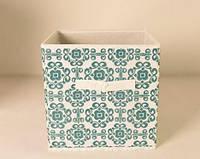 Ящик складной для игрушек, короб для книг, одежды и пр. Орнамент