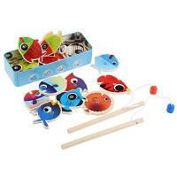 Детские Деревянные Магнитные Рыбалка Игры Набор Образовательные Игрушки Цветной