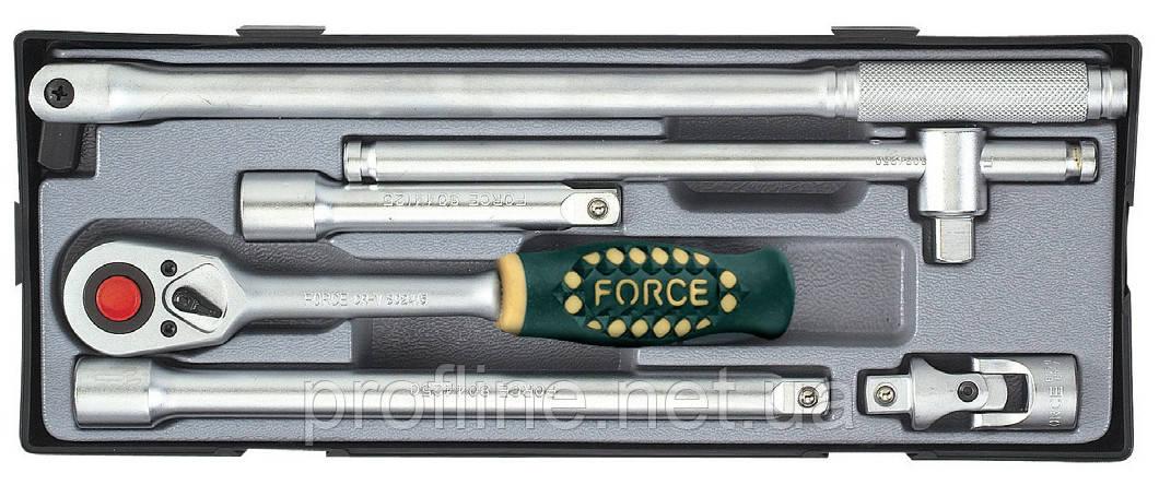 Набор инструмента 6 ед. Force T40612 F