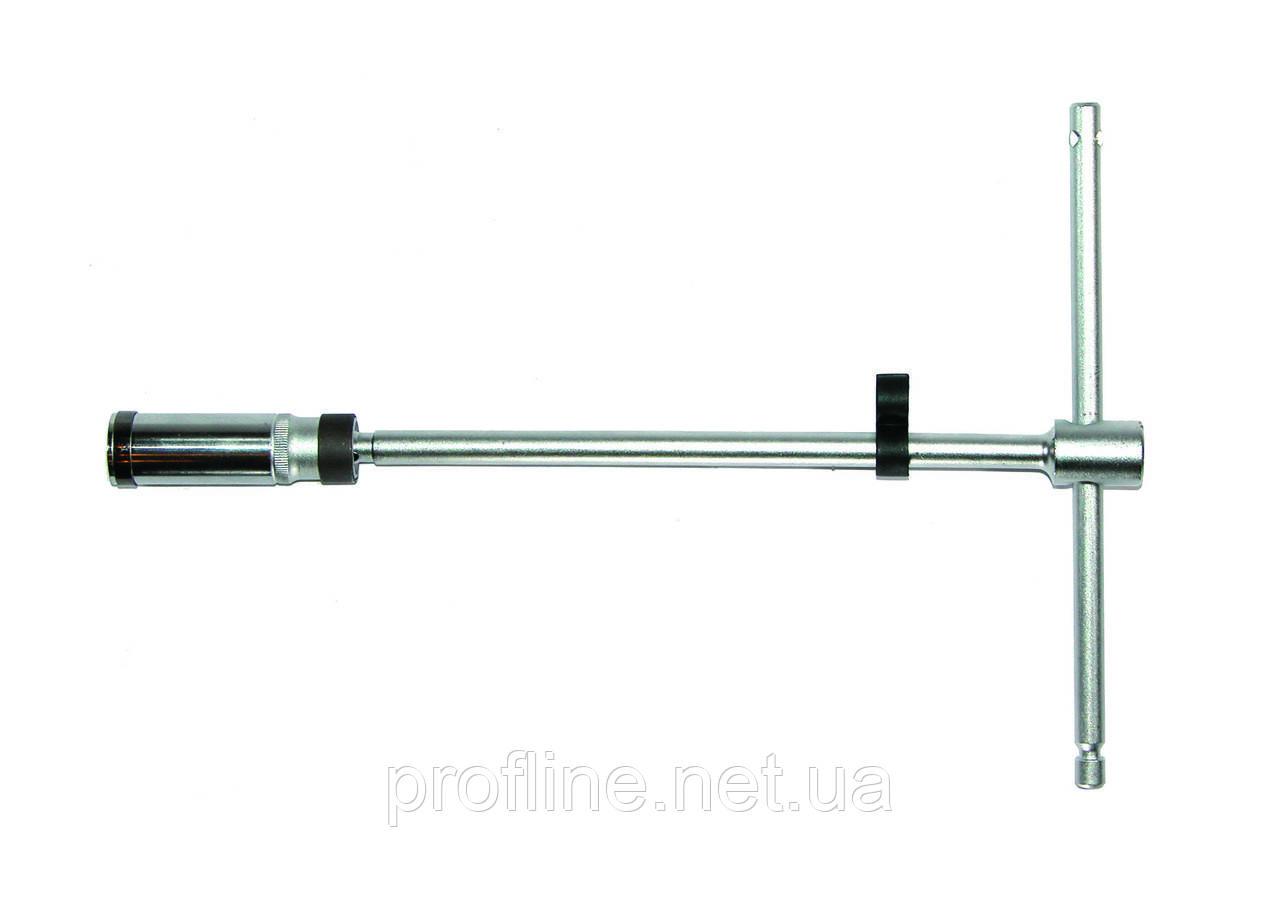 """Ключ свічний Т-подібний з шарніром 20,6 мм 3/8"""" Force 807350020.6 B F"""