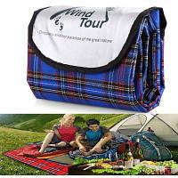 Wind Tour коврик против сырости для кемпинга пикника Синий