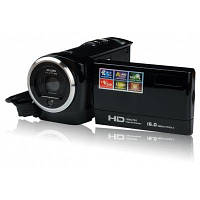 ORDRO DV-107 2.7 дюйма ЖК-дисплей видеокамера HD DV Чёрный
