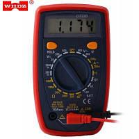 WHDZ DT33B цифровой мультиметр переменного тока постоянного тока тестер Тёмно-синий