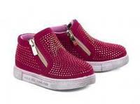 Детская демисезонная обувь оптом на девочек фирмы GFB  разм (с 21-по 26) 8 пар
