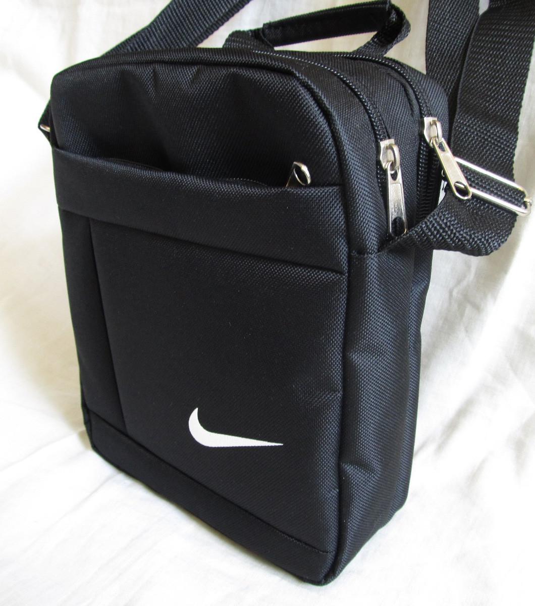 25e4f1ebe7a8 Мужская сумка через плечо спортивная барсетка черная 23х19х8см ...