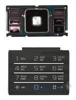 Клавиатура (кнопки) Sony Ericsson C905 Black