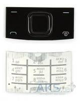 Клавиатура (кнопки) Nokia X3-00 Silver