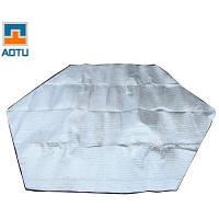 AOTU AT6217 шестиугольный влагостойкий коврик Серебристый
