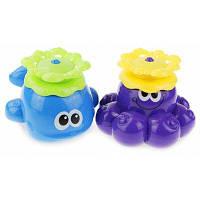 Детская плавающая игрушка для купания в ванной Цветной