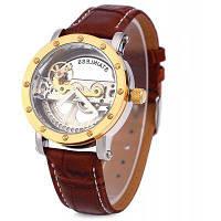 Шэньхуа 9541 Выдалбливают механические часы для мужчин Золотой
