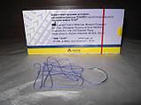 Шовний матеріал синтіл №2/0 (3,0) 0,75 м колюча голка 25 мм, 1/2, фото 2
