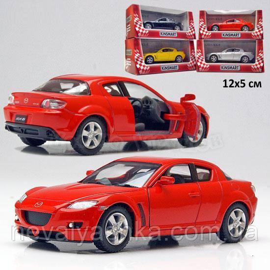 Kinsmart металлическая инерционная машинка Mazda RX-8 Кинсмарт KT5071W 002033