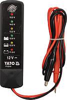 Цифровой аккумуляторный тестер 12V YT-83101