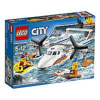 Конструктор LEGO City Спасательный самолет береговой охраны Sea Rescue PlaneConstruction Toy60164