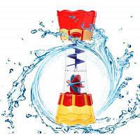 Детская игрушка разбрызгиватель воды для купания в ванной Цветной