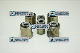 Сайлентблок рычага УАЗ-3160 попер тяги пер мост комплект 6шт УАЗ 31512 (3160-2909020)