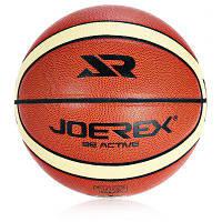 JOEREX JBA6222 № 7 PVC Баскетбольный мяч Темно-русый