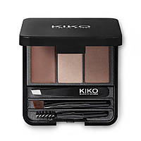 Набор для коррекции фиксации и окрашивания бровей Eyebrow Expert Styling Kit KIKO MILANO Италия