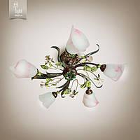 Люстра Цветок Розы 15655-cl117-pla25-cp029