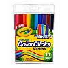Фломастеры COLOR CLICK с системой caps  connect 10 цветов, Crayola (Крайола)