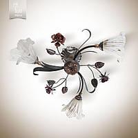 Люстра Цветок Розы 15633-cl285-pla39-cp008