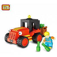 Лоз Инженерное сооружение АБС строительного кирпича игрушки Цветной