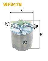 Фильтр топливный Nissan Qashqai, X-Trail; Renault Koleos (производство WIX-Filtron), ADHZX