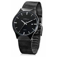 CRRJU 2127 модные наручные мужские часы Чёрный