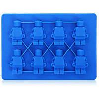 Робот формы силиконовые льда торт шоколад желе плесень Синий