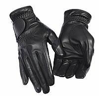 Женские перчатки кожаные для верховой езды