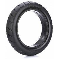 8.5 дюймов износостойкая резина твердая шина для Xiaomi Electric Scooter Чёрный