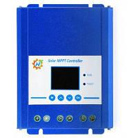 MPPT TFT Солнечный контроллер заряда Лазурный