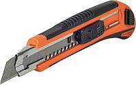 Нож с 3-мя лезвиями, 18мм (обрезиненнаярукоятка) Miol  76-191