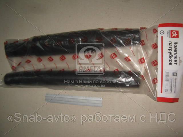 Патрубок радиатора КрАЗ 6437,6510 (комплект 3шт)  (арт. DK-1345), AAHZX