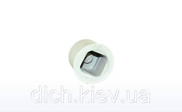 Заглушка для квадратной трубы 22*22мм