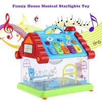 KUNSHENG забавный музыкальный фортепиано игрушки Дом ребенка Цветной