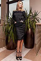 Платье Моратти черный