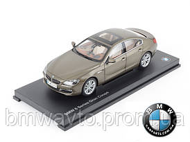 Модель BMW 6er Gran Coupé (F06) Bronze, Scale 1:18