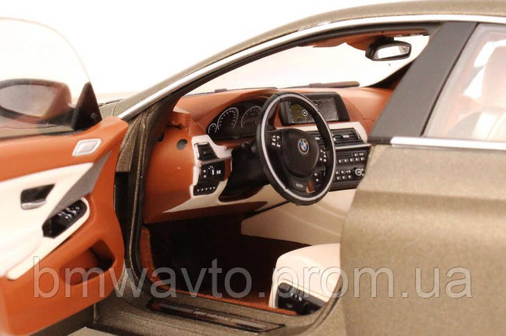 Модель BMW 6er Gran Coupé (F06) Bronze, Scale 1:18, фото 3