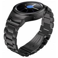 Ремешок для умных часов Samsung Galaxy Gear S2 R730 R720 Чёрный