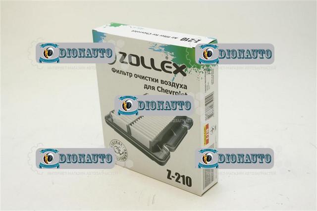 Фильтр воздушный Авео Zollex Z-210 Aveo 1.4 16V LT (96536696)